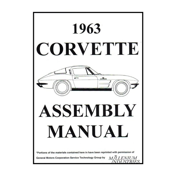 1963 Corvette Assembly Manual