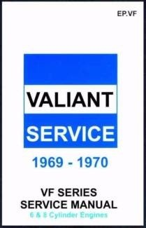 Chrysler Valiant VF Series Service Repair Manual