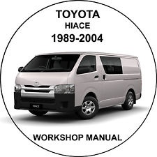 toyota hiace 1989 2004 workshop service repair manual rh sellfy com toyota hiace service repair manual