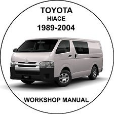 Toyota Hiace 1989-2004  Workshop Service Repair Manual
