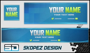 Blue Social Media Revamp