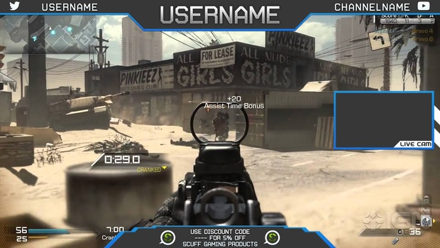 Free Overlay Template #1