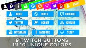 Twitch Description Buttons