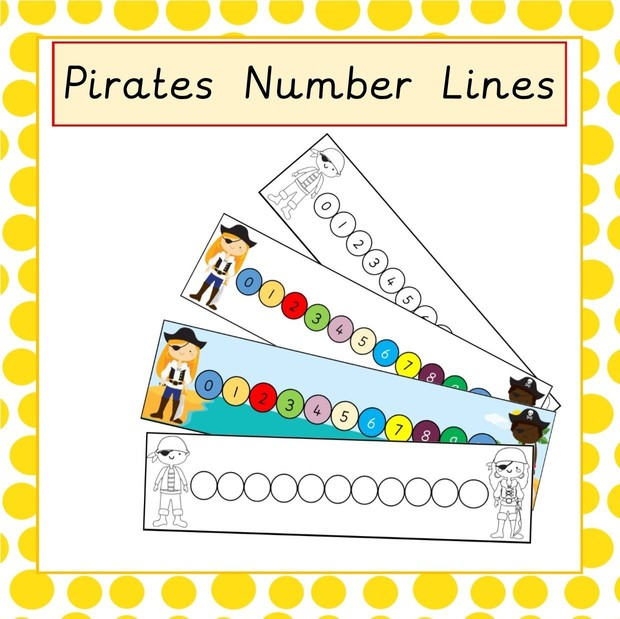 Pirate Number Line