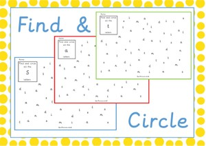 Find and Circle Letters P2