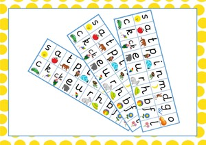 Phase 2 Phonics Sound Mat