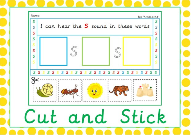 I can hear initial sounds P2