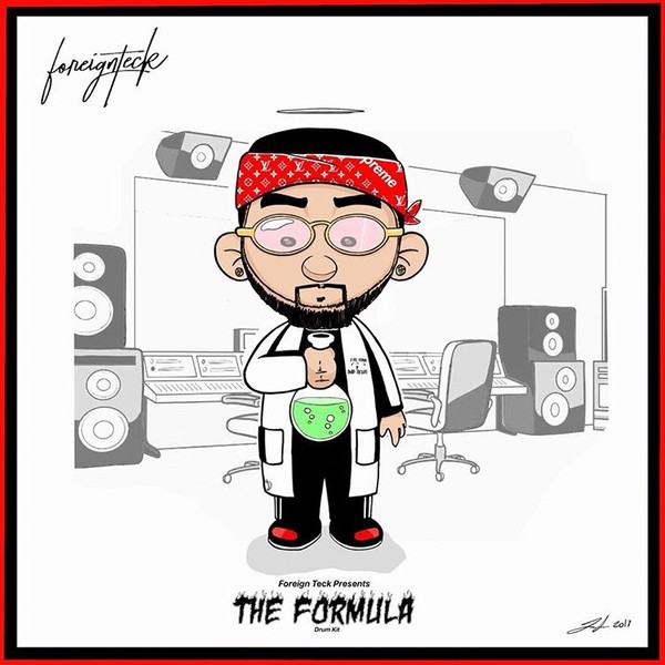 Foreign Teck Presents: The Formula Drum Kit