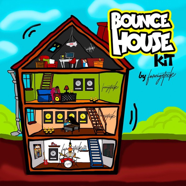 Foreign Teck Presents: Bounce House Drum Kit