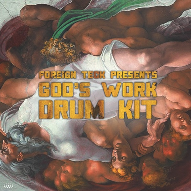Foreign Teck Presents - God's Work Drumkit