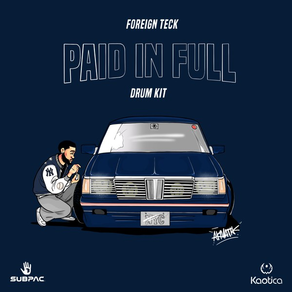 Foreign Teck Presents: Paid In Full Drumkit