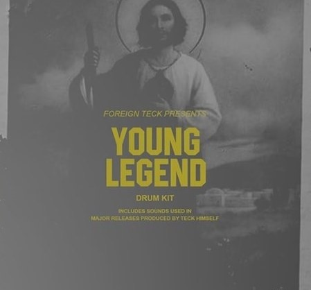 Foreign Teck Presents: Young Legend Drum Kit