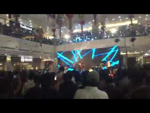 Music Show Video Footage in a Mall, buy video footage, video clips download