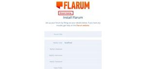Flarum on shared hosting
