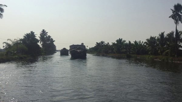 buy video footage, video clips download, boat water, riverboat, river - backwaters kerela,