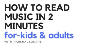 how to read music in 2 minutes