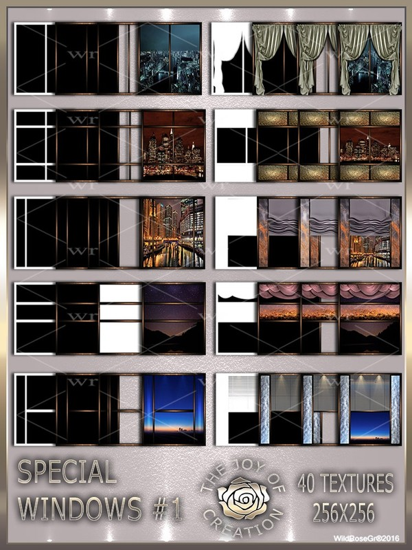 ~ SPECIAL WINDOWS #1 TEXTURE PACK ~