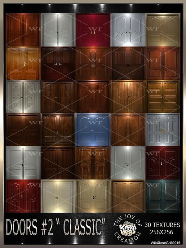 "~DOORS #2 "" CLASSIC "" TEXTURE PACK ~"