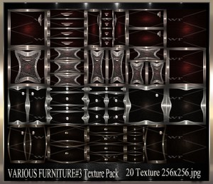~ VARIOUS FURNITURE DOORS #3 IMVU TEXTURE PACK ~