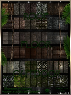~ ELEMENTS OF NATURE~ SUMMER EDITION [ROOF-FLOOR-OUTDOOR]