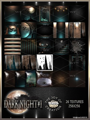 ~ DARK NIGHT #1 TEXTURE PACK ~ HALLOWEEN~