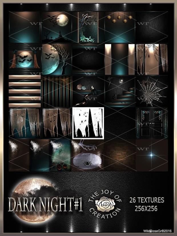 ~ DARK NIGHT #1 TEXTURE PACK ~ HALLOWEEN~