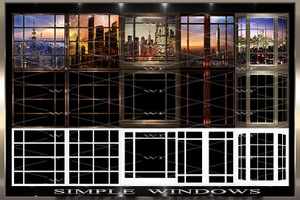 ~ SIMPLE WINDOWS IMVU TEXTURE PACK ~