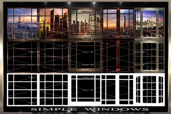 ~ SIMPLE WINDOWS IMVU TEXTURE PACK ~