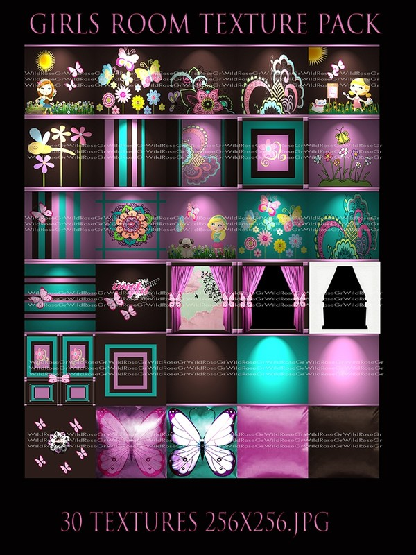~ GIRLS ROOM IMVU TEXTURE PACK ~