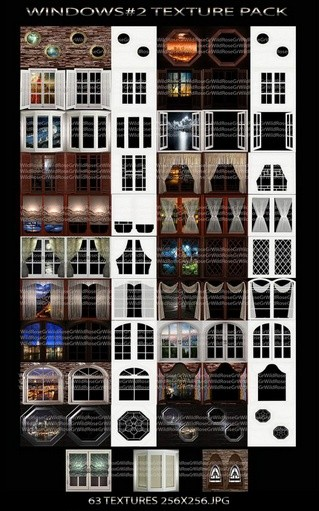 ~ WINDOWS #2 IMVU TEXTURE PACK ~