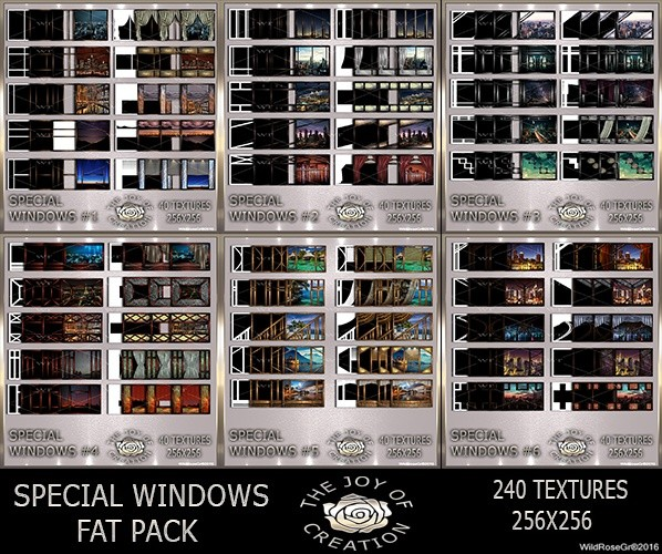 ~ SPECIAL WINDOWS FAT PACK ~