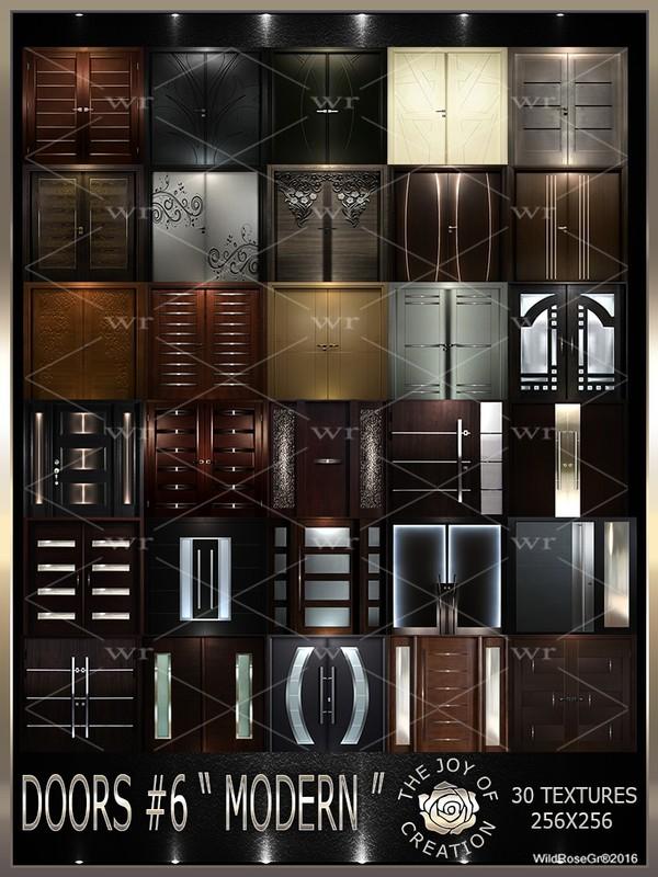 """~DOORS #6 """" MODERN """" TEXTURE PACK ~"""