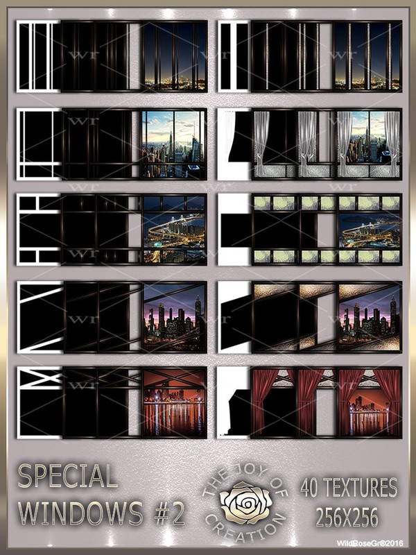 ~ SPECIAL WINDOWS #2 TEXTURE PACK ~