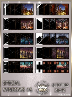 ~ SPECIAL WINDOWS #6 TEXTURE PACK ~