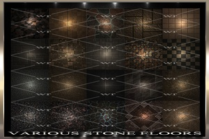 ~ VARIOUS STONE FLOORS IMVU TEXTURE PACK ~