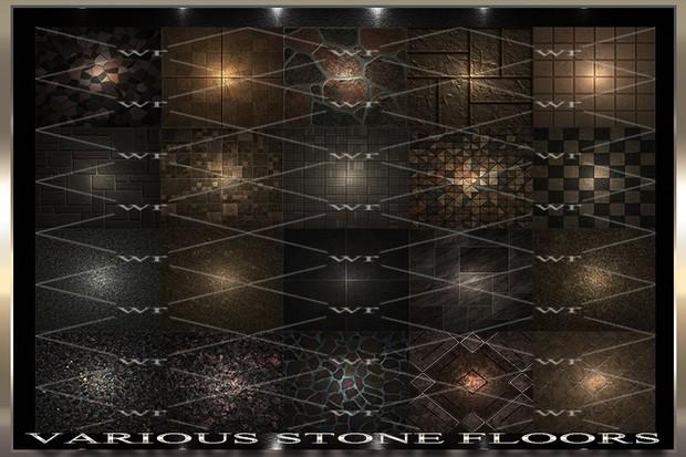 ~ VARIOUS STONE FLOORS IMVU TEXTURE PACK ~