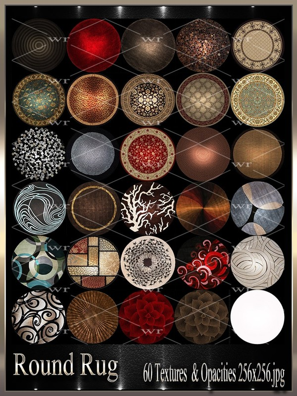 ~ROUND RUG TEXTURE PACK~