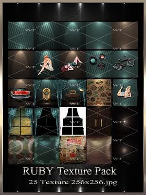 ~ RUBY IMVU TEXTURE PACK ~