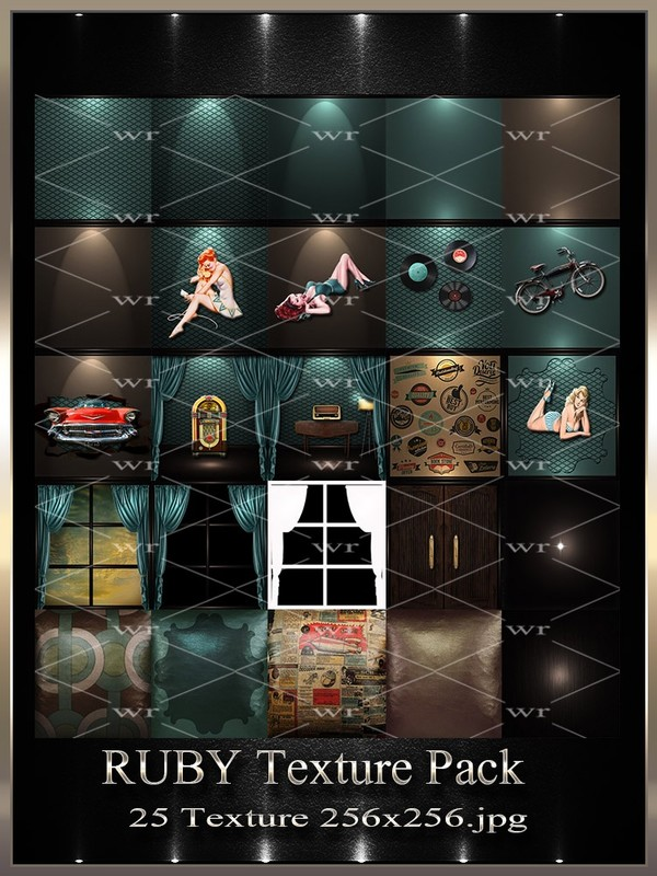 ~ RUBY IMVU TEXTURE PACK ~