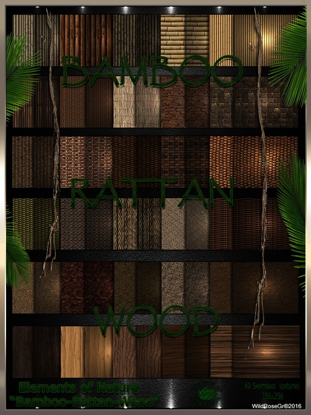 ~ ELEMENTS OF NATURE~ SUMMER EDITION [BAMBOO-RATTAN-WOOD]