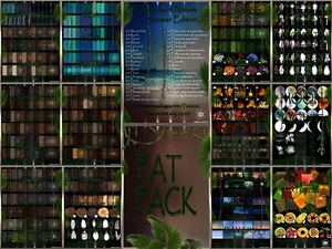 ~ ELEMENTS OF NATURE~ SUMMER EDITION FAT PACK