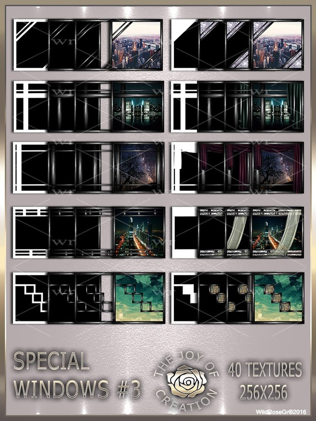 ~ SPECIAL WINDOWS #3 TEXTURE PACK ~