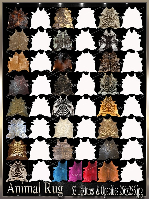~ANIMAL RUG TEXTURE PACK~