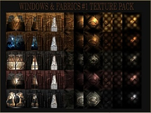 ~ WINDOW&FABRICS #1 IMVU TEXTURE PACK ~