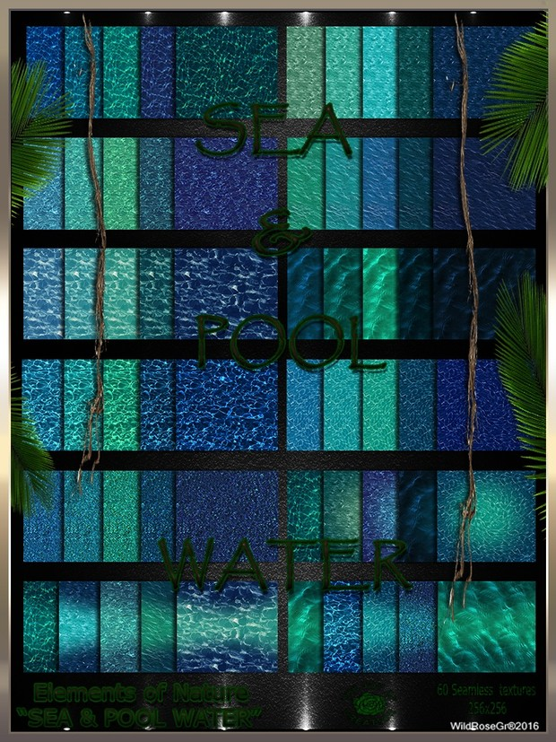 ~ ELEMENTS OF NATURE~ SUMMER EDITION [SEA & POOL WATER]
