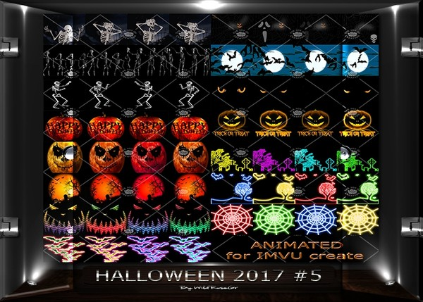 "OLDER COLLECTION "" HALLOWEEN '17 #5 """