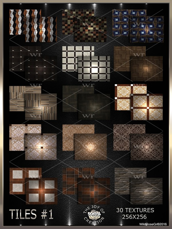 ~ TILES #1 TEXTURE PACK ~