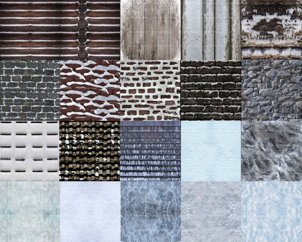 FREE WINTER TEXTURES