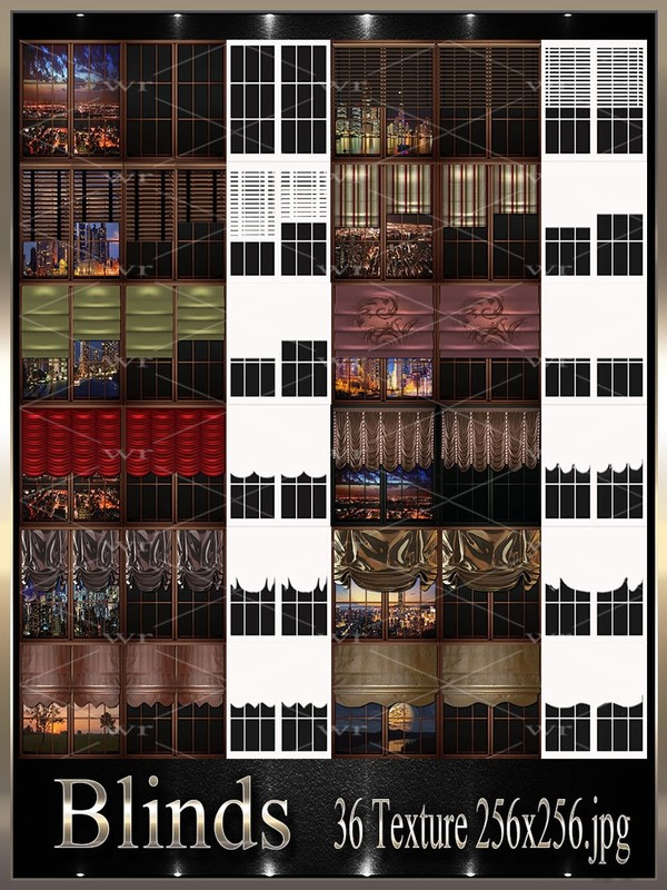 ~ BLINDS TEXTURE PACK ~