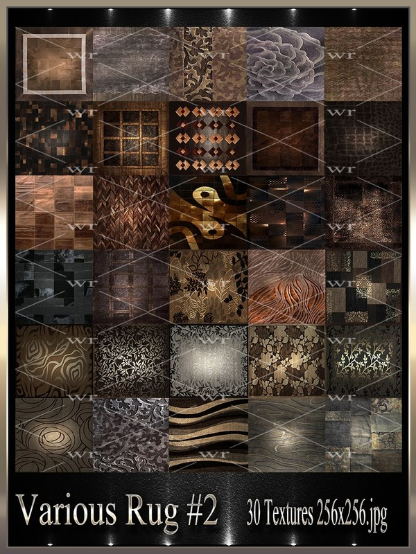 ~ VARIOUS RUG #2TEXTURE PACK ~
